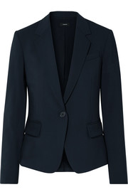 Gabe stretch-wool blazer