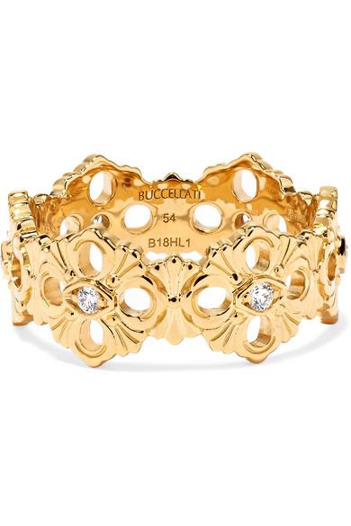 OPERA ETERNELLE 18-KARAT GOLD DIAMOND RING