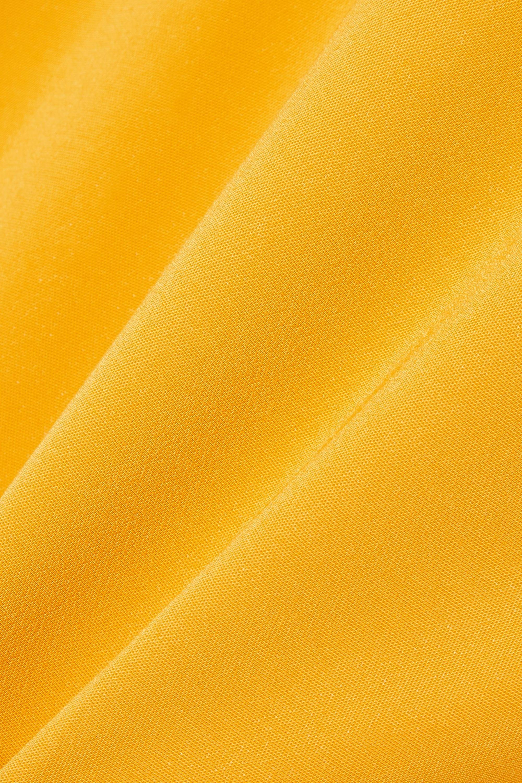 Cushnie Asymmetric stretch-crepe midi dress