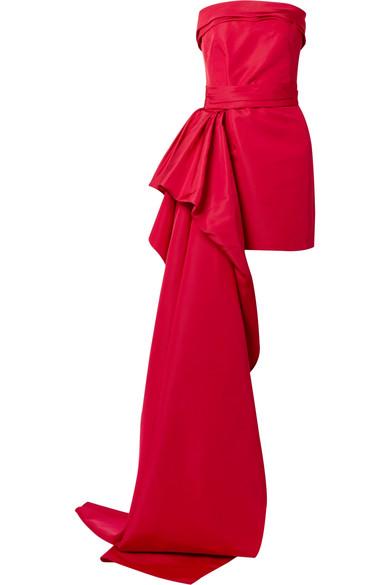 Silk-faille mini dress from NET-A-PORTER
