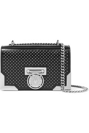 Balmain Box embellished leather shoulder bag