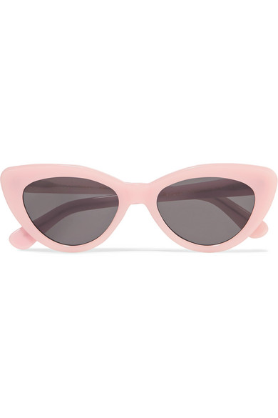 Pamela Cat-eye Acetate Sunglasses - White Illesteva SF7gL4Z