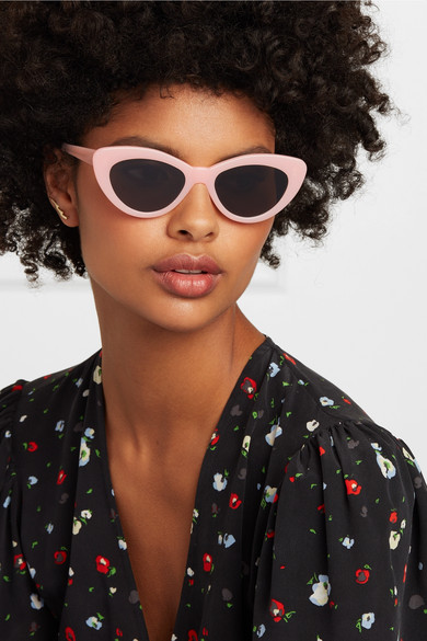 Pamela Cat Eye Acetate Sunglasses by Illesteva