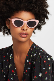 Pamela cat-eye acetate sunglasses