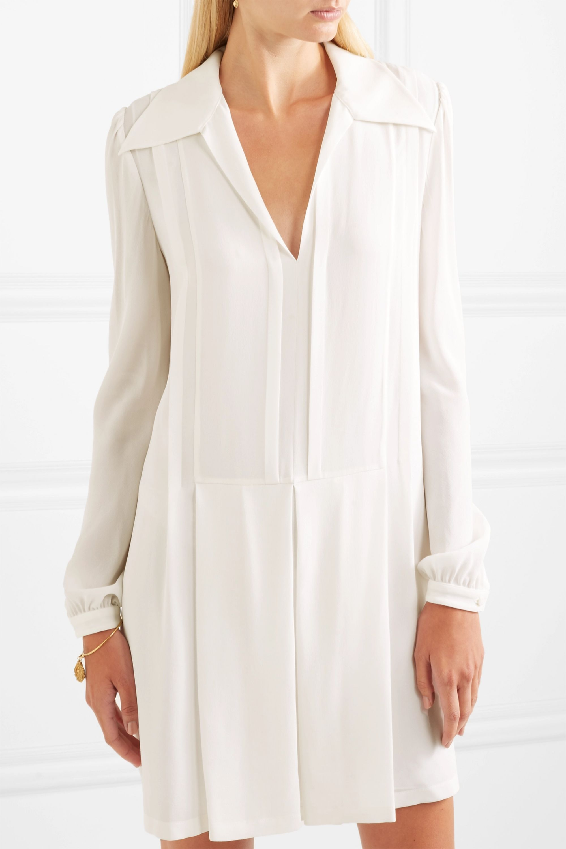 Chloé Silk crepe de chine mini dress