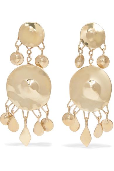 Omineca Gold-tone Earrings - one size Ariana Boussard-Reifel Bez75ez