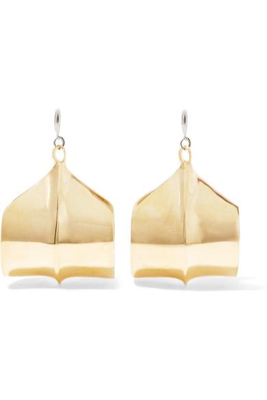 ARIANA BOUSSARD-REIFEL MERIDIAN GOLD-TONE EARRINGS