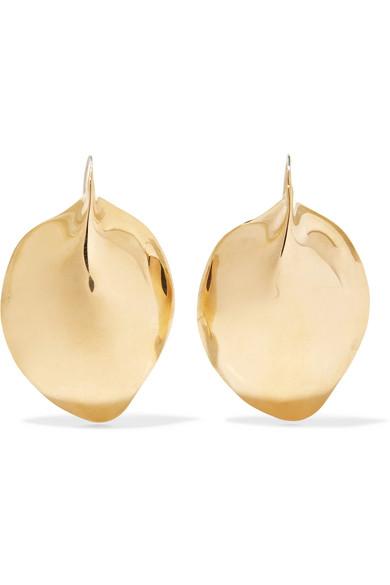ARIANA BOUSSARD-REIFEL OMINECA GOLD-TONE EARRINGS