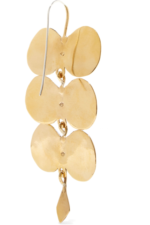 Ariana Boussard-Reifel Paloma gold-tone earrings