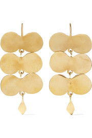 Ariana Boussard-Reifel Paloma gold-tone earrings