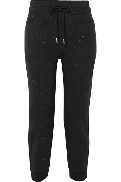 Essentials Marled Organic Cotton Blend Jersey Track Pants by Adidas By Stella Mc Cartney
