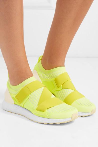 buy online 2037e accef adidas by Stella McCartney. UltraBOOST X neon Primeknit sneakers