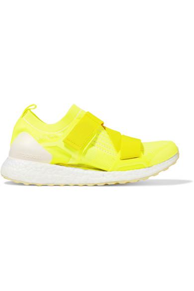factory authentic b0b3c ac1c0 adidas by Stella McCartney   UltraBOOST X neon Primeknit sneakers    NET-A-PORTER.COM