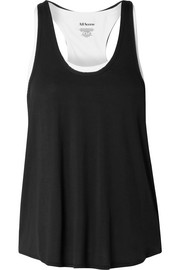 All Access Duet layered stretch-modal tank