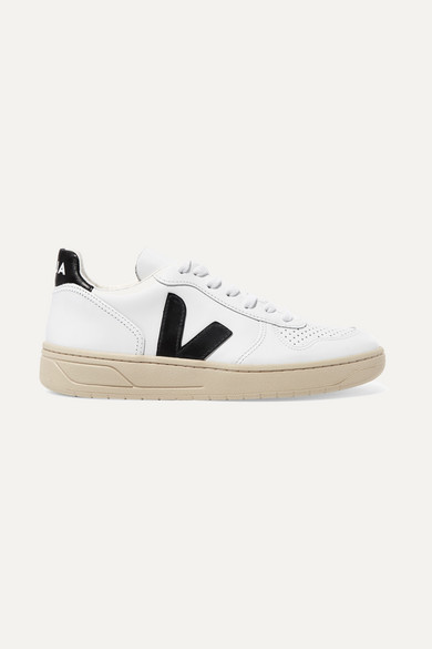 V 10 Leather Sneakers by Veja