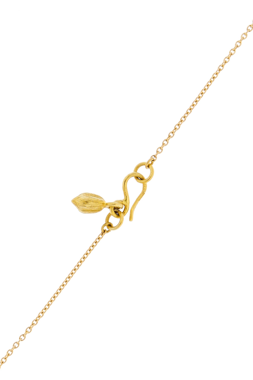Pippa Small Kette aus 18 Karat Gold mit Diamanten