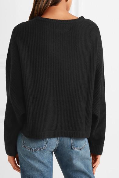 Allude Pullover aus geripptem Kaschmir