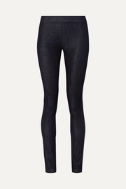The Row Stratton stretch-denim leggings