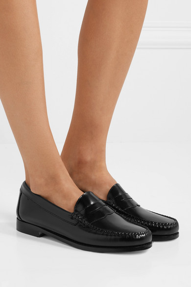 RE/DONE | + Loafers RE/DONE The Whitney Weejuns Loafers + aus Glanzleder e5dd54
