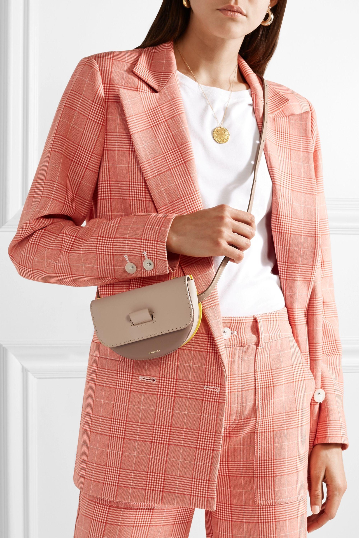 Wandler Anna color-block leather belt bag