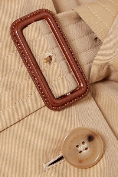 Burberry Coats The Kensington cotton-gabardine trench coat
