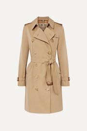 버버리 Burberry The Kensington cotton-gabardine trench coat