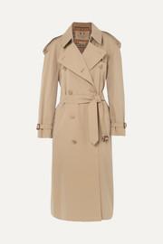 버버리 Burberry The Westminster Long cotton-gabardine trench coat