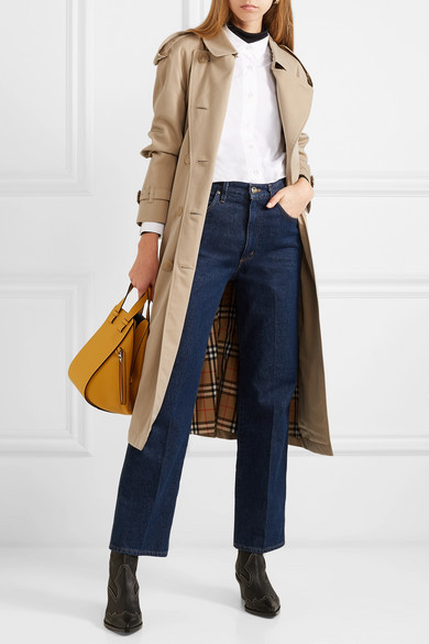 highly coveted range of high quality super cute Burberry | The Westminster Long cotton-gabardine trench coat ...