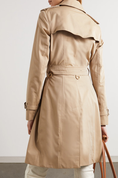 Burberry   The Chelsea cotton-gabardine trench coat   NET-A-PORTER.COM 0c255bf0fa1