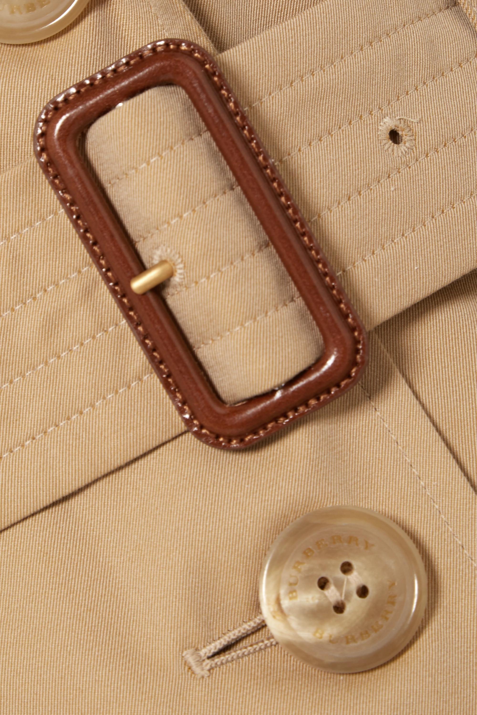 Beige The Chelsea Cotton-gabardine Trench Coat | Burberry