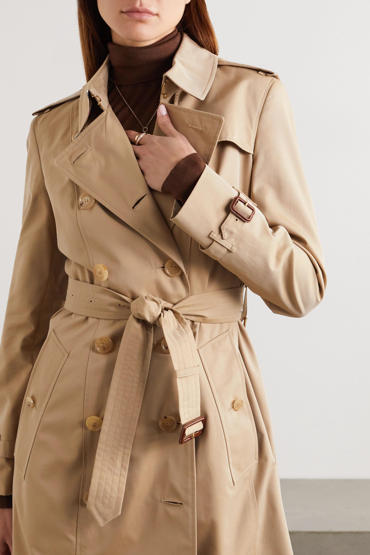 Burberry Trench-coat en gabardine de coton The Chelsea
