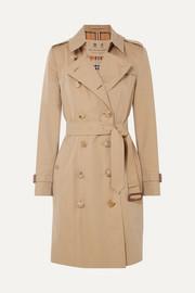 버버리 Burberry The Chelsea cotton-gabardine trench coat