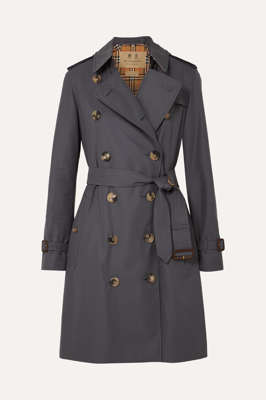 Burberry The Kensington cotton-gabardine trench coat