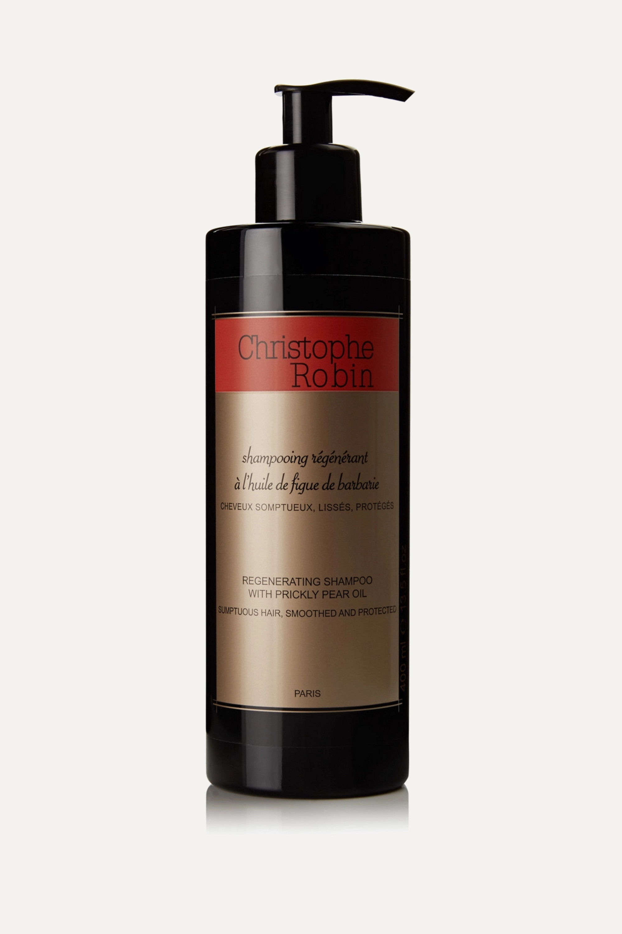 Christophe Robin Regenerating Shampoo with Prickly Pear Oil, 400ml