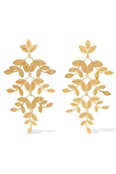 Mallarino Gabriella Gold Vermeil Earrings SjXgTOyb