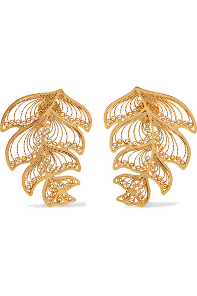 MALLARINO Erika Gold Vermeil Earrings