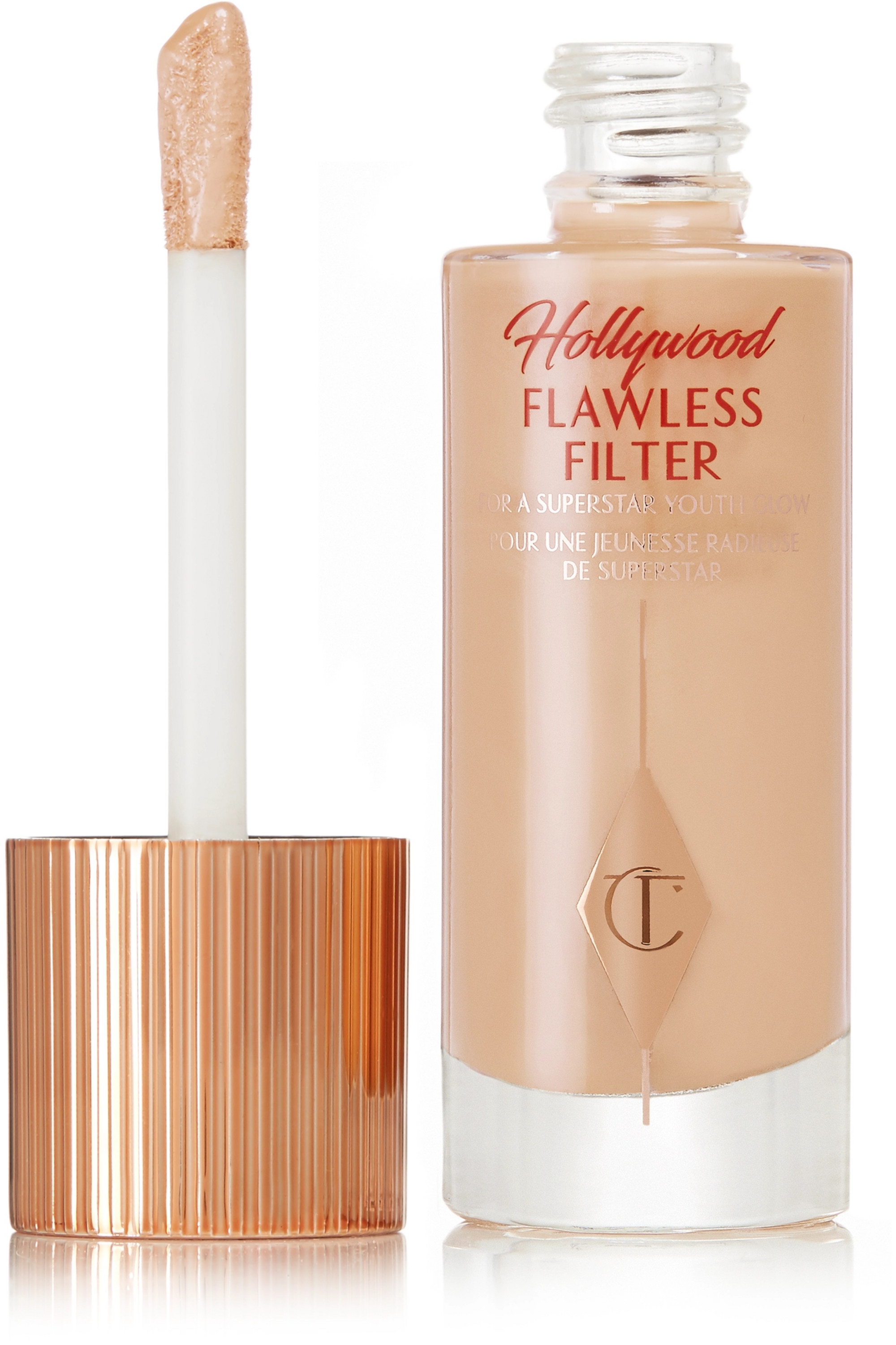 Charlotte Tilbury Hollywood Flawless Filter – 4 Medium, 30 ml – Foundation