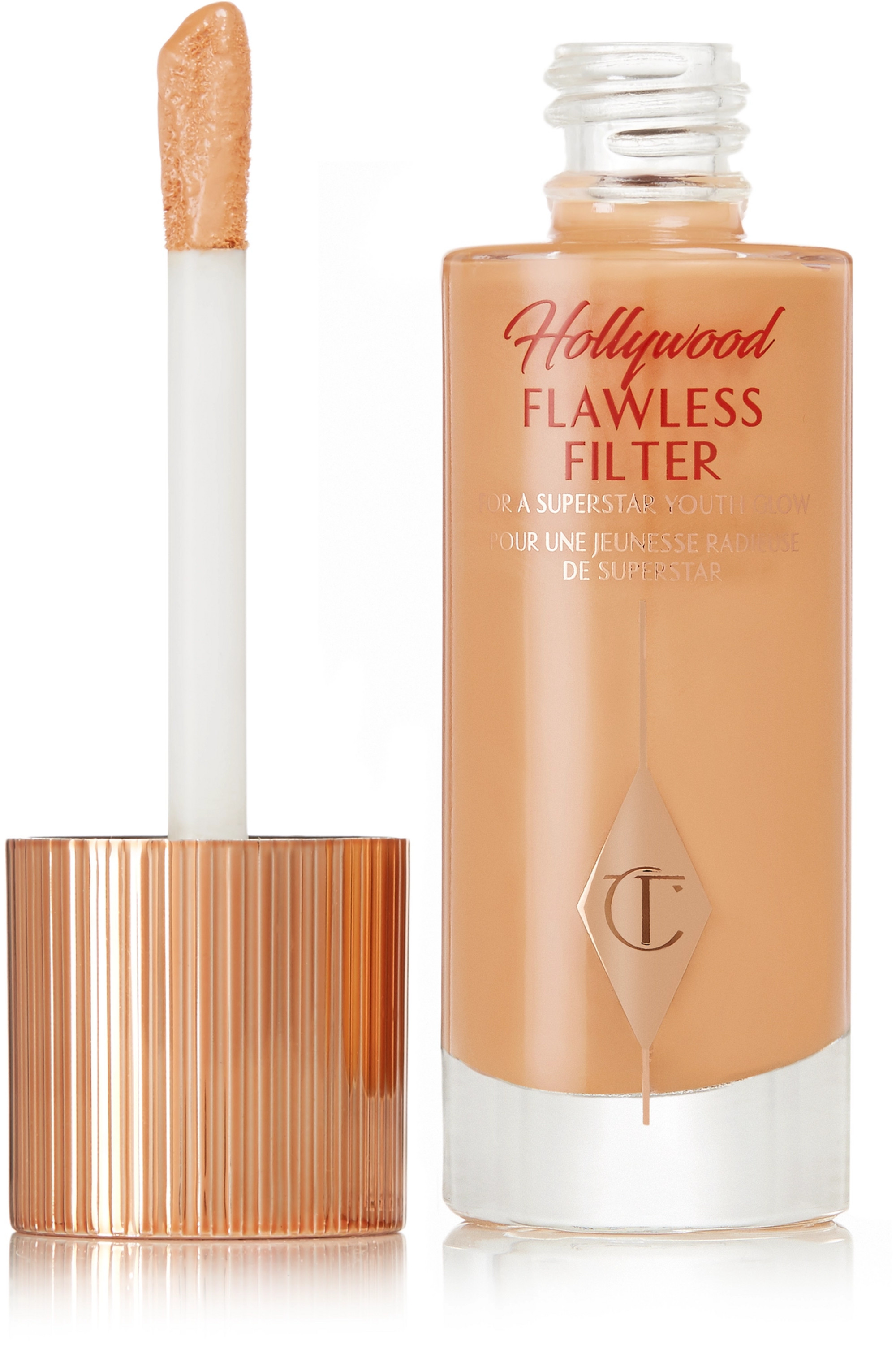 Charlotte Tilbury Hollywood Flawless Filter – 5 Tan, 30 ml – Teint-Booster