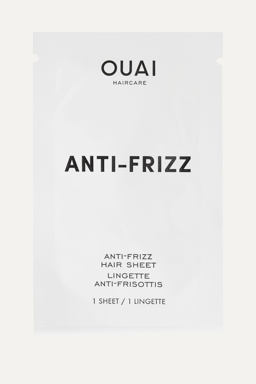 OUAI Haircare Anti-Frizz Smoothing Sheets x 15