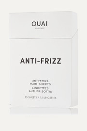Anti-Frizz Smoothing Sheets x 15