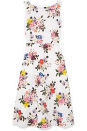 Maia floral-print cotton-poplin dress