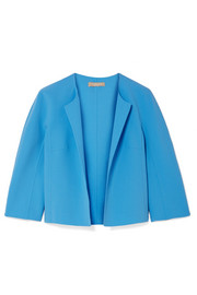 Stretch-wool crepe jacket