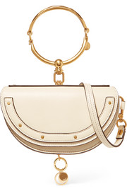 Nile Bracelet mini leather shoulder bag