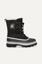 Caribou waterproof nubuck and rubber boots