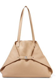 Akris Ai medium textured-leather shoulder bag