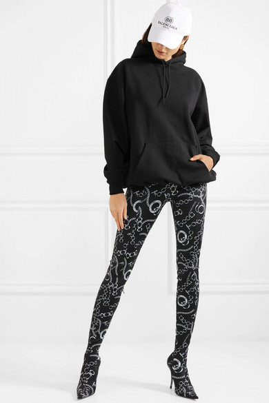 Balenciaga Pantashoe Slim-cut Trousers Made Of Spandex