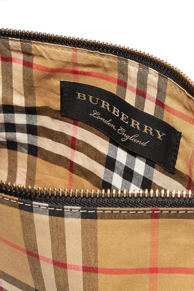 Burberry Karierter Beutel aus Popeline