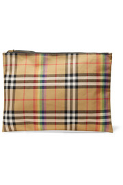Burberry Checked poplin pouch
