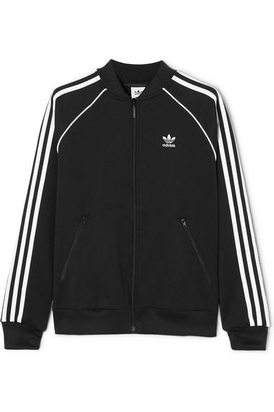 adidas Originals   Trainingsjacke aus Jersey mit Streifen   NET-A-PORTER.COM 9f9b2bbfc1