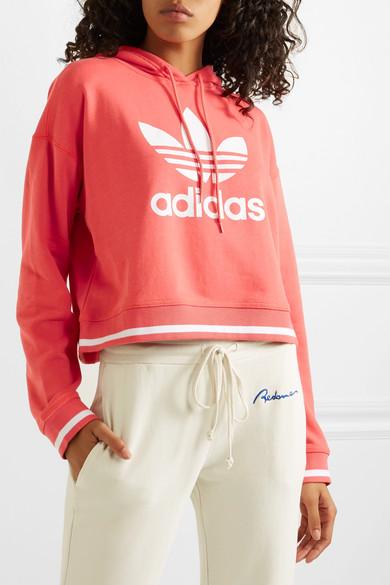 adidas Originals | Sweat à capuche raccourci en jersey de